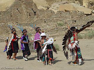 CSolstad_Hopi Dancers at Chaco 2006