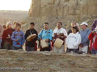 Hopi Sunrise Ceremony, Casa Rinconada 2006 (DSC09782)