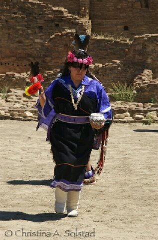 Chaco Canyon Field Report -- Solstice Dancing at Pueblo Bonito