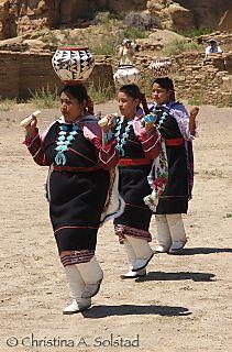CSolstad_Zuni Pottery Dance, Chaco Canyon 2007