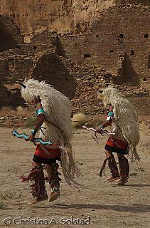 CSolstad_Zuni Buffalo Dance, Chaco Canyon 2007