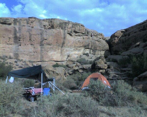 Chaco - Last Day at Camp w/broken tarp