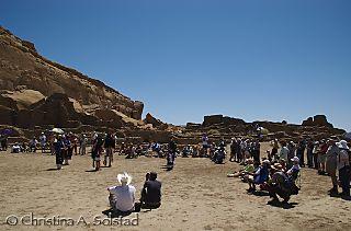 Visitors, Solstice 2008, Pueblo Bonito_Chaco_DSC_5965
