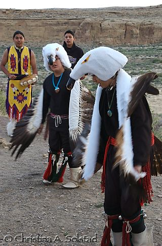 Laguna Eagle dancers, Casa Rinconada (Chaco 2008)_DSC_6165