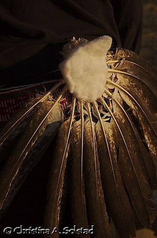 Eagle feathers on Laguna dancer (Chaco 2008)_DSC_6181
